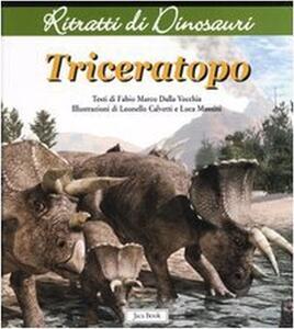 Triceratops. Ritratti di dinosauri