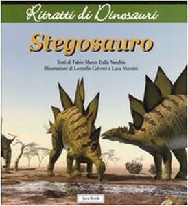 Stegosauro. Ritratti di dinosauri
