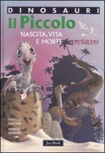 Foto Cover di Il piccolo. Nascita, vita e morte. Cretaceo. Dinosauri, Libro di Matteo Bacchin,Marco Signore, edito da Jaca Book