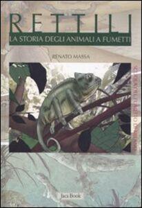 Foto Cover di Rettili. La storia degli animali a fumetti, Libro di  edito da Jaca Book