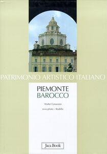 Libro Piemonte barocco Walter Canavesio