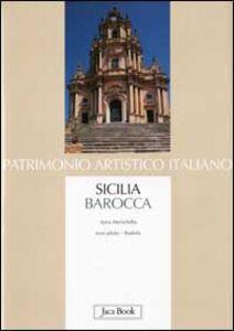 Foto Cover di Sicilia barocca, Libro di Anna Menichella, edito da Jaca Book