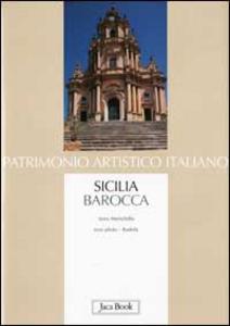 Libro Sicilia barocca Anna Menichella