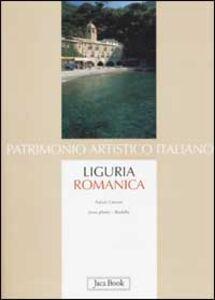 Libro Liguria romanica Fulvio Cervini