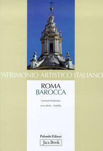 Libro Patrimonio artistico italiano. Roma barocca Gerhard Wiedmann