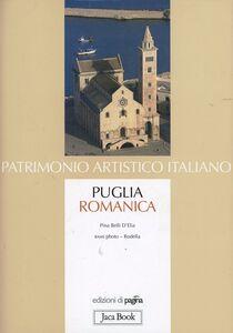 Foto Cover di Puglia romanica, Libro di Pina Belli D'Elia, edito da Jaca Book
