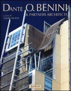 Foto Cover di Dante O. Benini & partners architects, Libro di Rossano Astarita, edito da Jaca Book