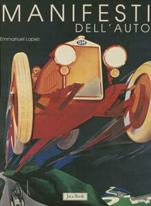 Libro Manifesti dell'auto Emmanuel Lopez