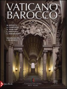Libro Vaticano barocco. Arte, architettura e cerimoniale