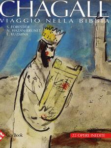 Foto Cover di Chagall. Viaggio nella Bibbia. Studi inediti e gouaches, Libro di AA.VV edito da Jaca Book