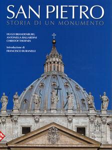 Libro San Pietro. Storia di un monumento Hugo Brandenburg , Antonella Ballardini , Christof Thoenes