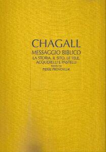 Foto Cover di Il messaggio biblico di Marc Chagall, Libro di  edito da Jaca Book