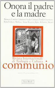 Foto Cover di Onora il padre e la madre, Libro di  edito da Jaca Book