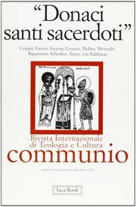 Foto Cover di Donaci santi sacerdoti, Libro di  edito da Jaca Book