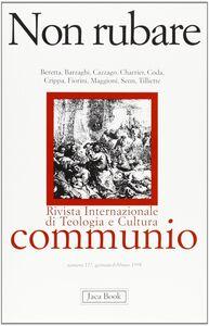 Foto Cover di Non rubare, Libro di  edito da Jaca Book