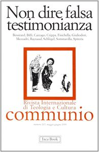 Foto Cover di Non dire falsa testimonianza, Libro di  edito da Jaca Book