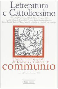 Libro Letteratura e cattolicesimo