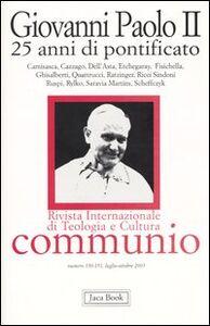 Libro Giovanni Paolo II. 25 anni di pontificato