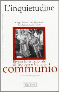 Foto Cover di La santa inquietudine, Libro di  edito da Jaca Book