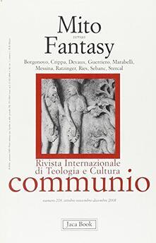 Mito versus fantasy - copertina