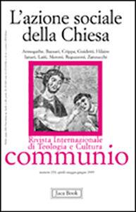 Foto Cover di L' azione sociale della Chiesa, Libro di  edito da Jaca Book