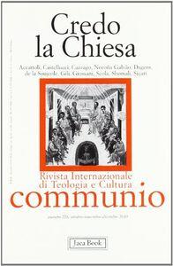 Foto Cover di Credo la Chiesa, Libro di  edito da Jaca Book