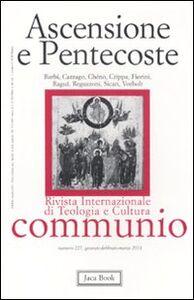 Foto Cover di Ascensione e pentecoste, Libro di  edito da Jaca Book