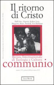 Foto Cover di Il ritorno di Cristo, Libro di  edito da Jaca Book