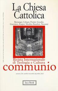 Libro La chiesa cattolica