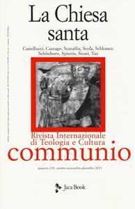 Libro La chiesa santa