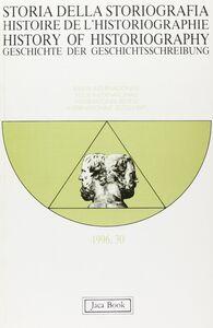 Foto Cover di Storia della storiografia. Vol. 30, Libro di  edito da Jaca Book