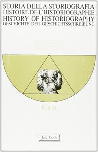 Libro Storia della storiografia. Vol. 34