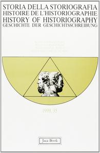 Libro Storia della storiografia. Vol. 35