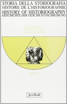 Lpgcsostenible.es Storia della storiografia. Vol. 49 Image