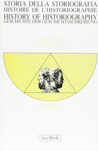 Foto Cover di Storia della storiografia. Vol. 50, Libro di  edito da Jaca Book