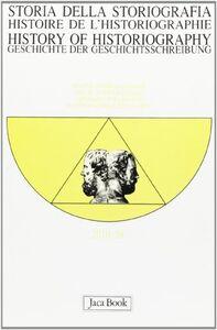Libro Storia della storiografia. Vol. 58