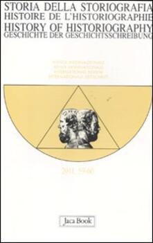 Associazionelabirinto.it Storia della storiografia vol. 59-60 Image