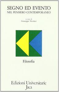 Libro Segno ed evento nel pensiero contemporaneo