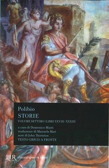 Capturtokyoedition.it Storie. Testo greco a fronte. Vol. 7: Libri XXVIII-XXXIII. Image