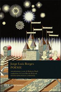 Libro Poesie (1923-1976). Testo spagnolo a fronte Jorge L. Borges