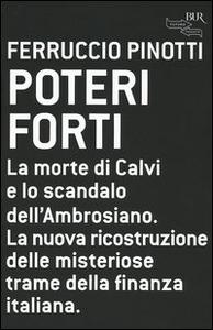 Libro Poteri forti Ferruccio Pinotti