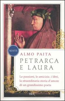 Petrarca e Laura - Almo Paita - copertina