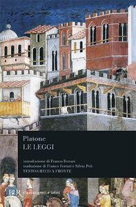 Libro Le leggi. Testo greco a fronte Platone