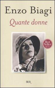 Libro Quante donne Enzo Biagi