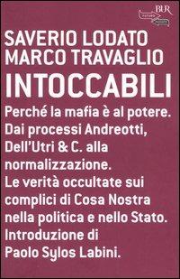 Intoccabili - Lodato Saverio Travaglio Marco - wuz.it