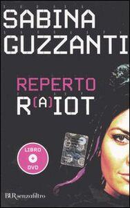 Foto Cover di Reperto RaiOt. Con DVD, Libro di Sabina Guzzanti, edito da BUR Biblioteca Univ. Rizzoli
