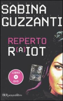 Reperto RaiOt. Con DVD - Sabina Guzzanti - copertina