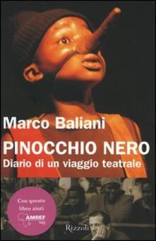 Rallydeicolliscaligeri.it Pinocchio nero. Diario di un viaggio teatrale Image