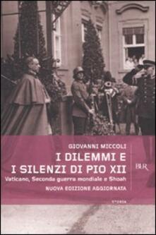Associazionelabirinto.it I dilemmi e i silenzi di Pio XII. Vaticano, seconda guerra mondiale e shoah Image