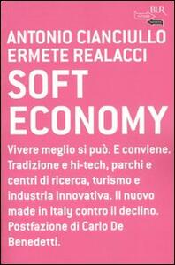 Soft economy - Antonio Cianciullo,Ermete Realacci - copertina